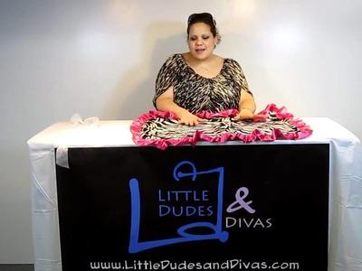 Baby Bella Maya Zoe Zebra Designer Baby Blanket
