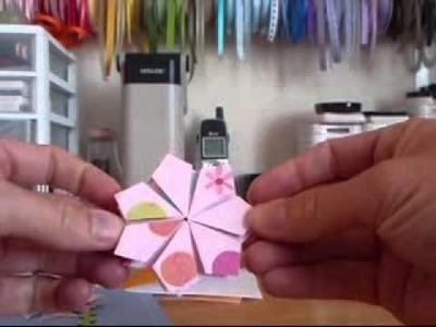CCBJ #14~ Folded Flower Tutorial