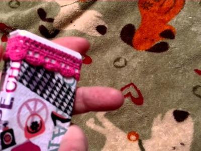Colbys1981 Craft Challenge - Tic Tac Box