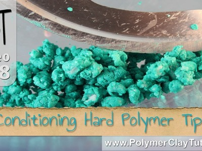Conditioning Hard Polymer Clay Tip #3 - Food Processor