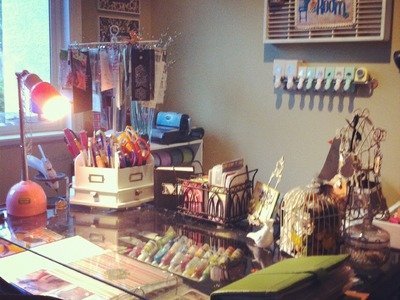 Craft room tour.