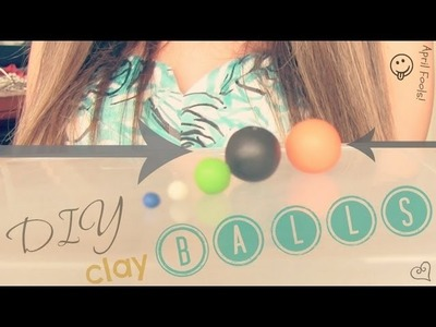 DIY: Clay Balls - Polymer Clay How To
