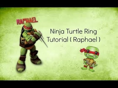 DIY Ninja Turtle Ring | Polymer Clay | Rings Handmade