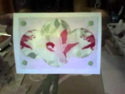 Easy Fabric Card Designs