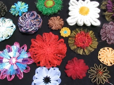 Flower Looms - Yarns and Troubleshooting Problem Flowers