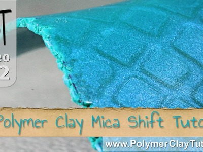 Free Polymer Clay Mica Shift Mini-Tutorial (With A Twist)