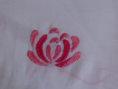 Hand Embroidery: Romanion Stitch