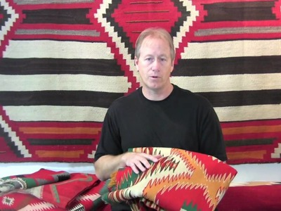 How to identify a Germantown Navajo Blanket
