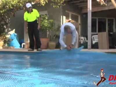 How to install a pool blanket - Direct Pool Supplies