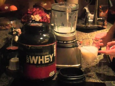 How to Make a Basic Whey Protein Shake