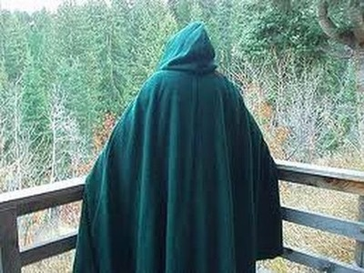 How To Make A Cloak!