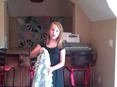 How to Make a No-Sew Blanket for Soldier's Angels