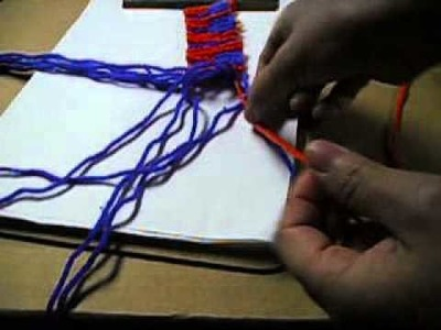 How To make A Piano Alpha Style Friendship Bracelet-4.