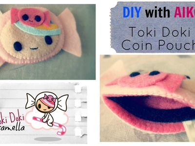 How To Make A Tokidoki Caramella Coin Pouch From Felt Tutorial