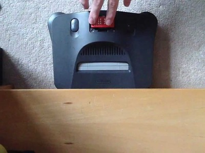 How To Replace A Nintendo 64 Jumper Pak with a Nintendo 64 Expansion Pak