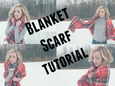 How To: Style a Blanket Scarf