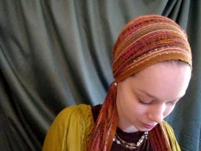 How to tie the Eastern Princess head scarf