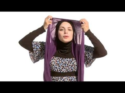 How to wear hijab-a few very basic styles for newbies