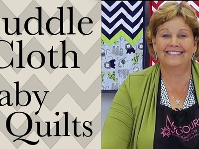 Make a Baby Quilt:  Easy Quilting with Shannon Cuddle Cloth Kits!