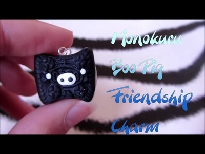 Monokuru Boo Friendship Charm Tutorial: Polymer Clay