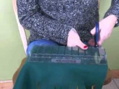 No Sew Fleece Blanket - Adjustable Fringe Cutting Template