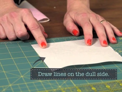 Quilty: how to make a quilt label