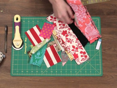 Quilty: How to make a strip quilt