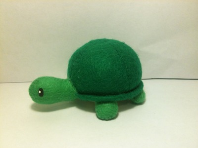 Turtle Plushie Tutorial