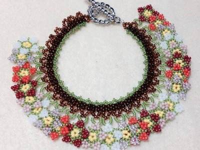 (Tutorial) Summer Blossom Neck.Bracelet PART 1 (Video 49)