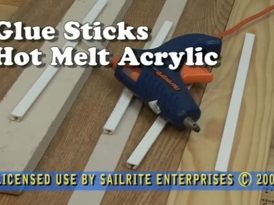 Uses for Acrylic Glue Sticks - for Hot Glue Gun