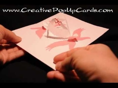 Valentine's Day Pop Up Card: Lovebirds