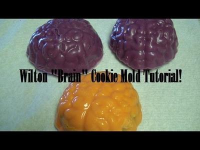"Wilton ""Brain"" Cookie Mold Tutorial!"