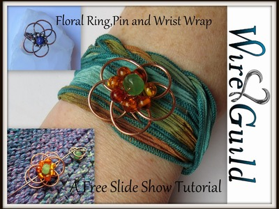 Wire wrap Ring, Pin, and Wrap Tutorial