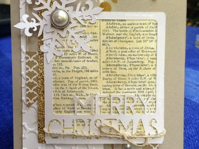 12 Days of Christmas Card Tutorial *Day 3*