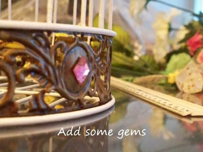 Altering a Bird Cage by C Mom Go