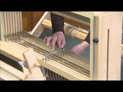 Assembling the Baby Wolf Loom