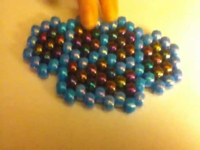Brass Knuckles Peyote Stitch Tutorial