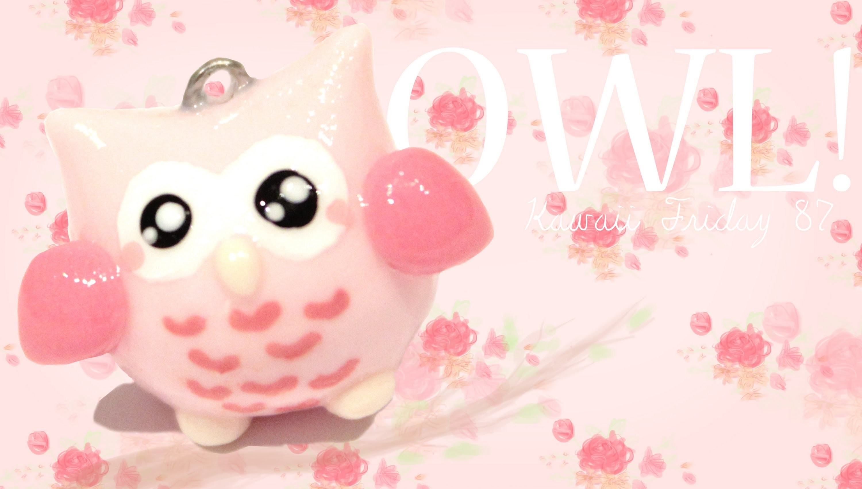 ◕‿◕Cute Owl! Kawaii Friday 87 - Tutorial in Polymer clay!