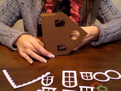 Gingerbread House Treat Box Tote Part 1