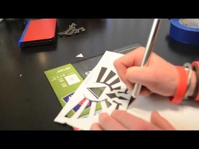 How to make a custom zelda 3ds xl (Original)