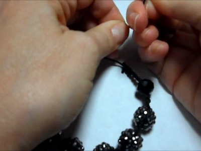 How to Make a Shamballa Bracelet
