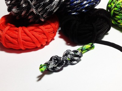 How to make. tie paracord DNA. Spiral paracord lanyard ( Tutorial )