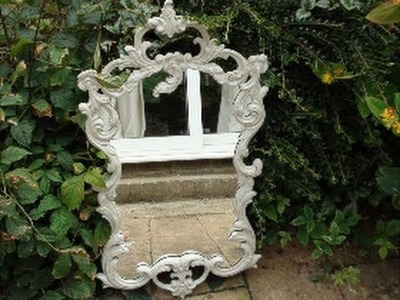 How to paint shabby chic furniture!