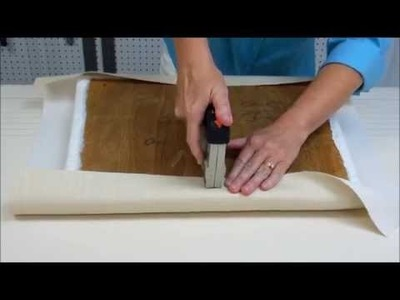 How To Re-Upholster A Chair Seat