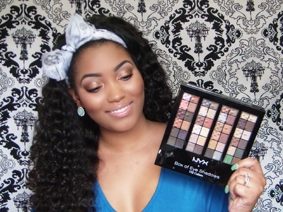 Is It Worth It? NYX Box Of Eyeshadows(112 Colors) REVIEW