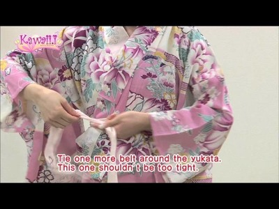 Kawaii Tutorial How to wear YUKATA(Japanese Tradditional Kimono for Summer)