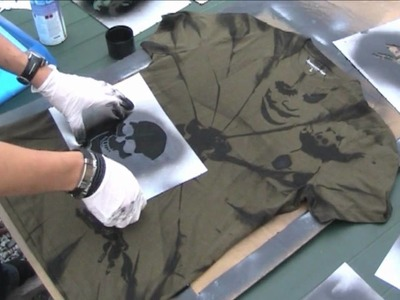 KvalheimSprayPainting Painting #5 (On T-Shirt)