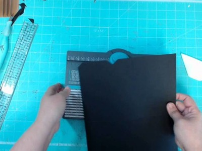 Making File Folders with the We R Memory Keepers Envelope Punch Board