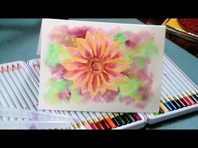 New Prima Watercolor Pencil Review and Tutorial