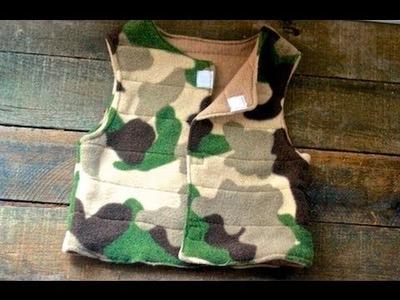 Sew a Kids' Fleece Vest